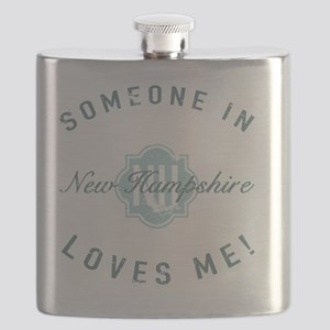 Someone In New Hampshire Flask