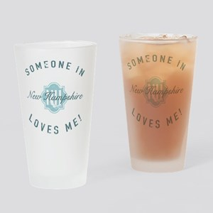 Someone In New Hampshire Drinking Glass