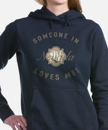 Someone In Nevada Women's Hooded Sweatshirt