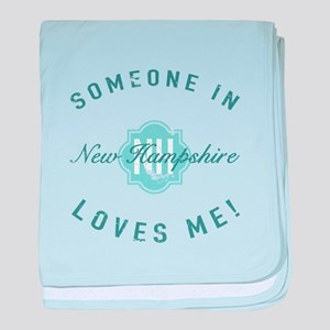 Someone In New Hampshire baby blanket