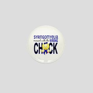 Syringomyelia MessedWithWrongChick1 Mini Button