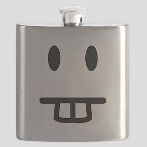 Bucktooth Face Flask