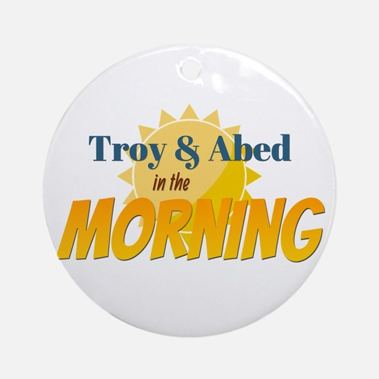 Troy and Abed in the morning Ornament (Round)