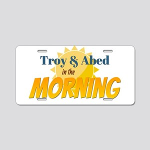 Troy and Abed in the morning Aluminum License Plat