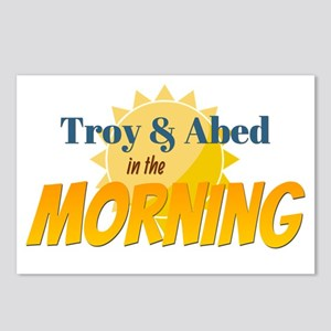 Troy and Abed in the morning Postcards (Package of