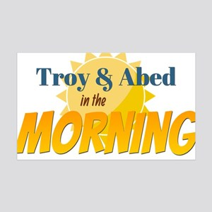 Troy and Abed in the morning Wall Decal