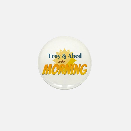 Troy and Abed in the morning Mini Button