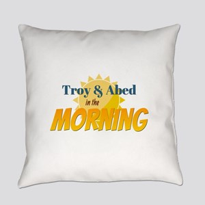 Troy and Abed in the morning Everyday Pillow