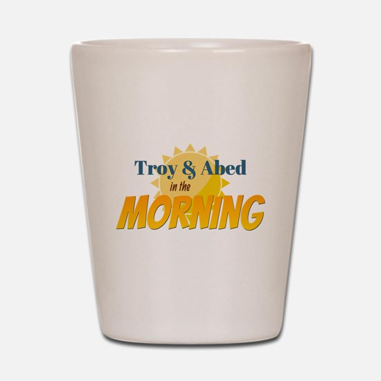 Troy and Abed in the morning Shot Glass
