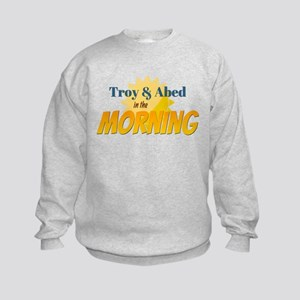 Troy and Abed in the morning Sweatshirt