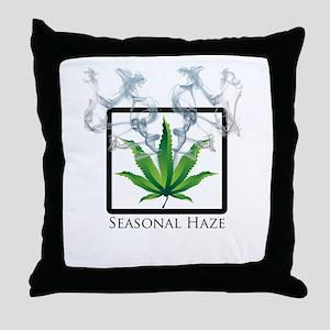 Seasonal Haze 2 Throw Pillow