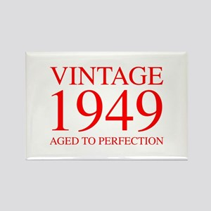 VINTAGE 1949 aged to perfection-red 300 Magnets