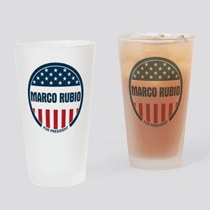 Marco Rubio president 2016 Drinking Glass