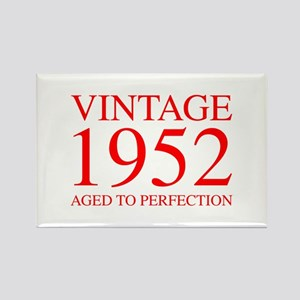VINTAGE 1952 aged to perfection-red 300 Magnets