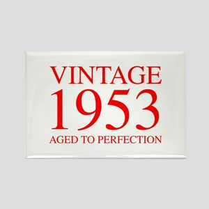 VINTAGE 1953 aged to perfection-red 300 Magnets