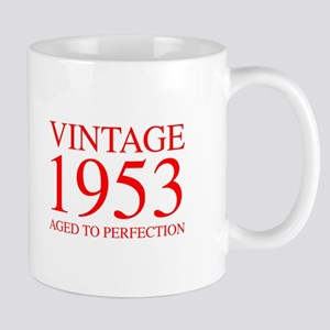 VINTAGE 1953 aged to perfection-red 300 Mugs