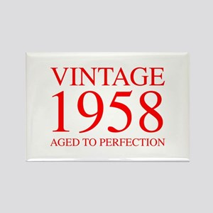 VINTAGE 1958 aged to perfection-red 300 Magnets