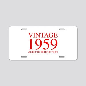 VINTAGE 1959 aged to perfection-red 300 Aluminum L