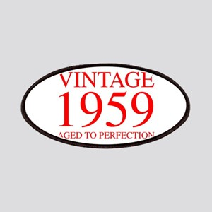 VINTAGE 1959 aged to perfection-red 300 Patch