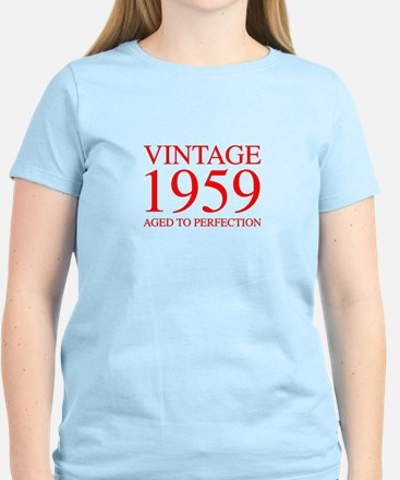 VINTAGE 1959 aged to perfection-red 300 T-Shirt