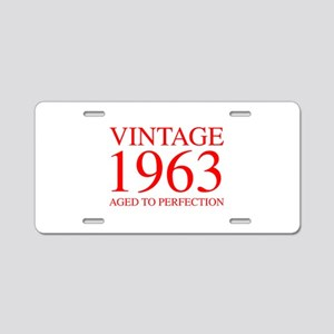 VINTAGE 1963 aged to perfection-red 300 Aluminum L
