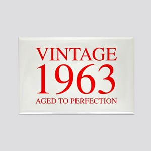 VINTAGE 1963 aged to perfection-red 300 Magnets