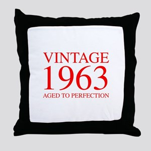 VINTAGE 1963 aged to perfection-red 300 Throw Pill