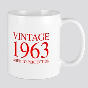 VINTAGE 1963 aged to perfection-red 300 Mugs