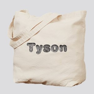 Tyson Wolf Tote Bag