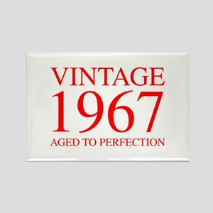 VINTAGE 1967 aged to perfection-red 300 Magnets
