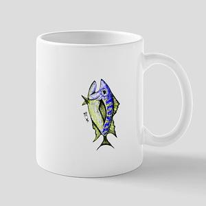 Tuna Abstract 3 rot Mugs