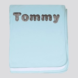 Tommy Wolf baby blanket