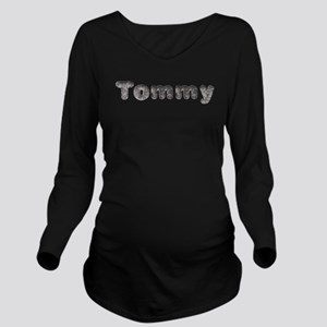 Tommy Wolf Long Sleeve Maternity T-Shirt