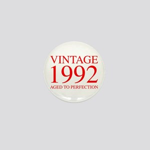 VINTAGE 1992 aged to perfection-red 300 Mini Butto
