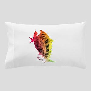 Retro Tuna Rotated Pillow Case