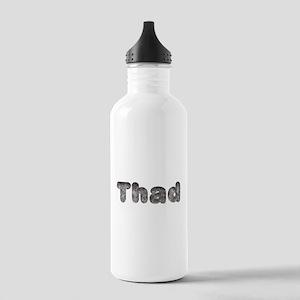 Thad Wolf Water Bottle