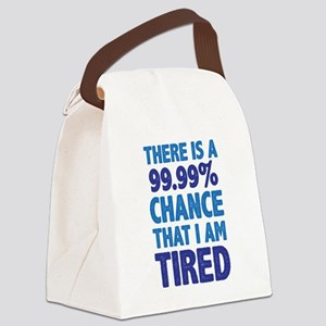 There is a 99.99% chance that I a Canvas Lunch Bag