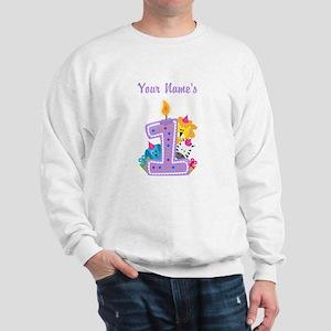 CUSTOM 1 year old Sweatshirt