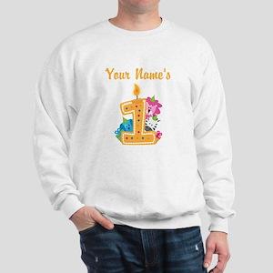 CUSTOM Your Names 1 Sweatshirt