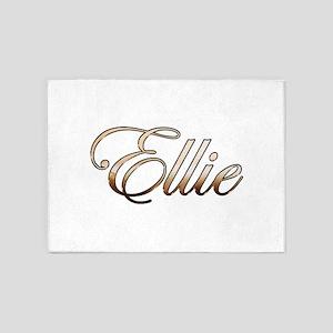Gold Ellie 5'x7'Area Rug