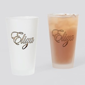 Gold Eliza Drinking Glass