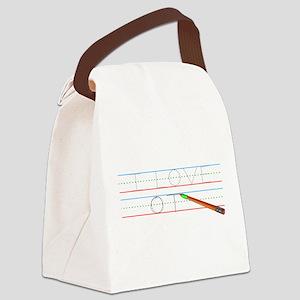 I Love OT Canvas Lunch Bag