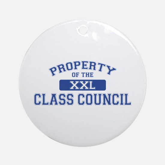 Property Of The Class Council XXL Ornament (Round)