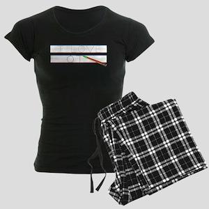 I Love OT Women's Dark Pajamas