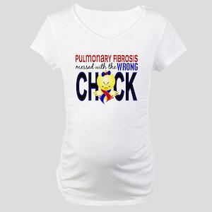 Pulmonary Fibrosis MessedWithWro Maternity T-Shirt