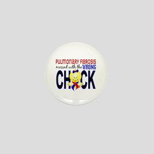 Pulmonary Fibrosis MessedWithWrongChic Mini Button