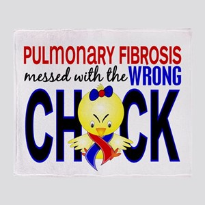 Pulmonary Fibrosis MessedWithWrongCh Throw Blanket