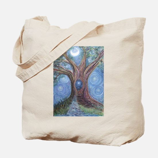 Magical Womb Tree Tote Bag