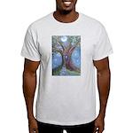 Magical Womb Tree Ash Grey T-Shirt