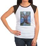 Magical Womb Tree Women's Cap Sleeve T-Shirt